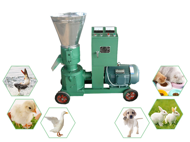 household manual animal feed pellet machine