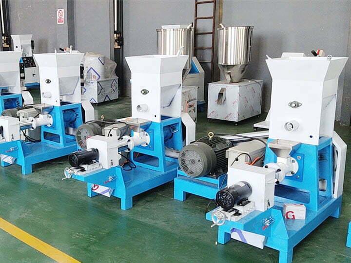 feed pellet machinery