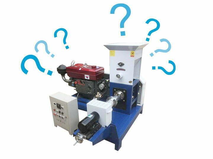 FAQ about Fish Feed Pellet Machine