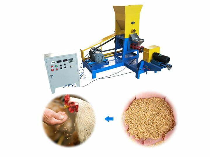 chicken feed pellet mill