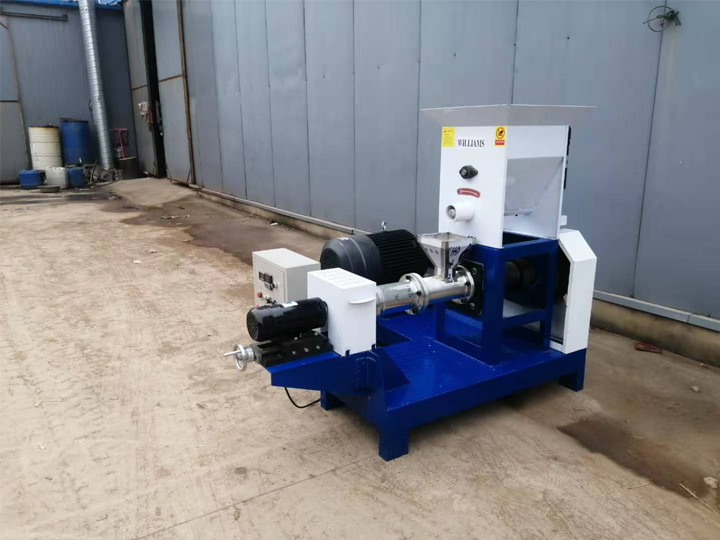 two-screw-spiral-fish-feed-extruder