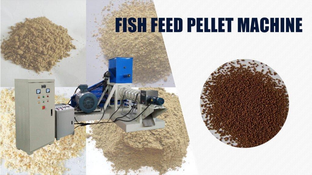 fish feed pellet machine